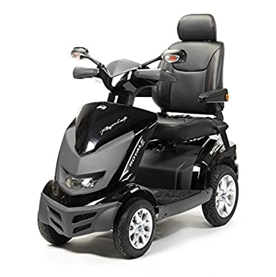 Drive Medical Royale 4 Class 3 Deluxe Heavy Duty 4 Wheel Mobility Scooter -Black