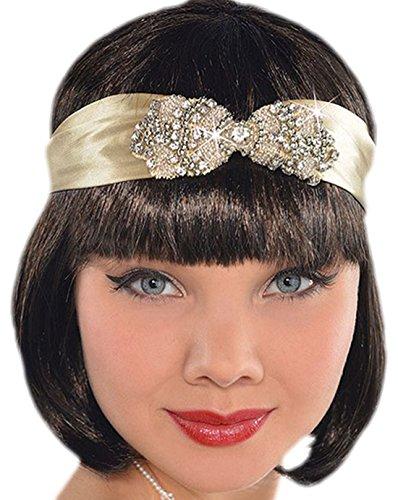 Charleston Tanz 20er Dreißiger Jahre Haarband, Gold