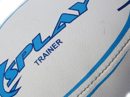 DE Splay Trainer Rugby Ball (Blue)- Size 3 -