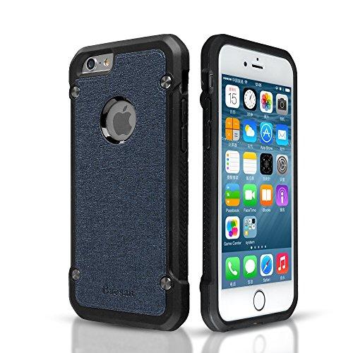 iPhone 6 Hülle, Armor Air Cushion stoßfest Silikon Stoßstange Slim Anti- rutsch Schutzhülle für iphone 6/6s (4,7 '')( 2016) -- Blau Blau