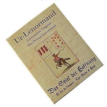 Primal Original Lenormand, 36 Cartes de Voyance et Instruction Multilingue dans Boîte de Rangement