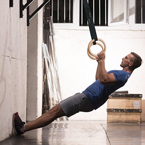 Turnringe Holz Ringe Turnen I ZenRings Fitness Gymnastikringe