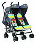 Cosatto Ditto Twin Stroller - Get Set Go