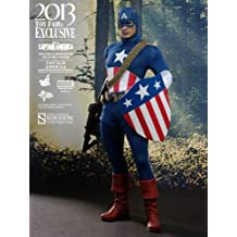 Hot Toys - Figura Capitán América (HTMMS205)