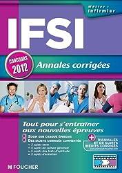 IFSI Annales corrigées Concours 2012