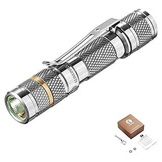 LUMINTOP® Tool Titan EDC für AAA Batterie. Bis zu 110 Lumen Lichtstrom Cree XP-G2 R5 LED Mini LED Edelstahlclip Taschenlampe für den Schlüsselbund