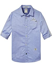 Scotch & Soda Jungen Hemd Blue Shirt