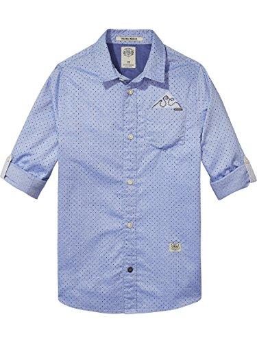 Scotch & Soda Blue Shirt, Blusa Para Niños Scotch & Soda