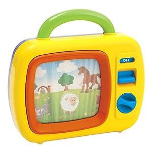 PlayGo - Televisión para bebés con melodías y movimiento (ColorBaby 42460)