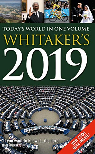 Whitaker's 2019 por Bloomsbury Publishing PLC