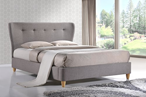 Birlea Kensington Bed - Fabric, Grey, King Size