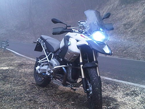 KIT H7 LED NEW TECNOLOGY CREE ADATTO PER BMW GS 1200 e 650 x ANABBAGLIANTE E ABBAGLIANTE TUTTO LED