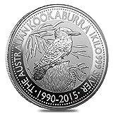 The Australian Kookaburra 2015 1 kg (32,15 oz.) Silber 999 Silver Coin CAPSULA Moneta Kilo Perth Mint