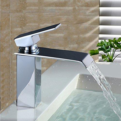 Home lody rubinetto cromato lavabo bagno rubinetto cascata bagno rubinetto lavandino rubinetto miscelatore monocomando lavabo rubinetto per bagno