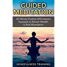 Guided Meditation: 30 Minute Positive Affirmations Hypnosis to Attract Wealth & Real Abundance (English Edition)