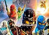 Lego Ninjago Einladungskarten 12er Set inkl. 12 Umschläge N9