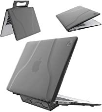 DMG MacBook Air 13 inch Case, Premium Hard Shell Portable Stand Full Body Cover Rubberized Matte Case for Apple MacBook Air 13 inch (A1369 / A1466)