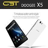 DOOGEE X5 5.0 Zoll HD Smartphone Android 5.1 3G WCDMA
