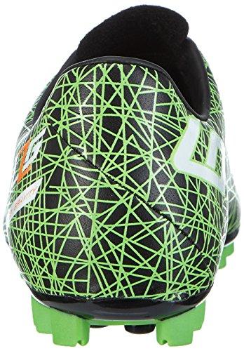 Lotto Lzg Vii 700 Hg28, Chaussures de football pour compétition homme Multicolore - Mehrfarbig (BLK/MINT FL)