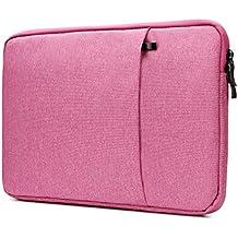 "Nidoo 13.3 pulgada Impermeable Classic Comfort Manga Ordenador Portátil Bolsa Caja Cubierta Piel Protector Para Apple 13"" MacBook Pro 13.5"" Microsoft Surface Book, Rosa"
