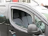 Peugeot Partner 2008 onwards Wind Deflectors / Rain Shields INTERNAL FIT (19030)