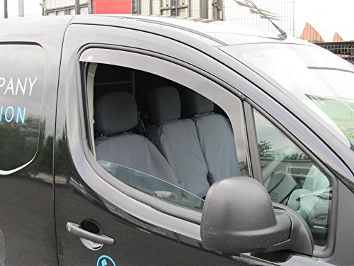Peugeot Partner 2008 onwards Wind Deflectors / Rain Shields INTERNAL FIT (19030)