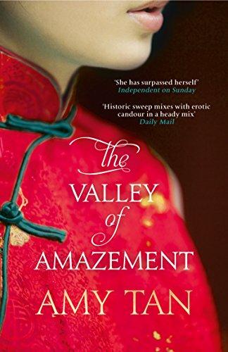 Buchseite und Rezensionen zu 'The Valley of Amazement' von Amy Tan