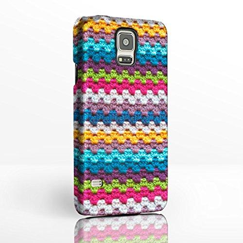 iCaseDesigner - Handyschutzhülle, Nähen, Stricken, für Samsung Galaxy Smartphones,12Designs zur Auswahl Hüllen mit Vollbild-Design aus Hartplastik von iCaseDesigner., plastik, Stripey Knitwear, Samsung Galaxy Note 2 (Stricken Noten)