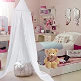 Yosoo Cama para niños de cúpula de princesa, fácil de colgar, habitación Play de tienda de...