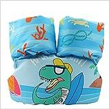 FDGT Niedliche Krokodilkinder Schwimmen Armkreis Kleinkind-Baby-Schwimmanlage Floating Kreis Mu Sleeves Schwimmweste