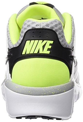Nike Flex Raid Herren Sneaker Elfenbein - Blanc Cassé - Blanco (White / Black Wolf Grey Volt)