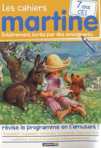 Les cahiers Martine CE1 7 ans