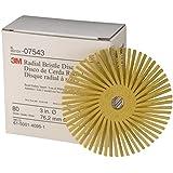 3M Scotch-Brite  Disco Radial Bristle  RD-ZB, Amarillo, 76 mm, P80, 2/ Caja