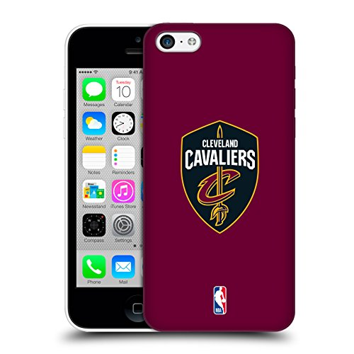b5e669b6a Head Case Designs Offizielle NBA Einfach Cleveland Cavaliers Ruckseite  Hülle für iPhone 5c