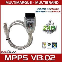 MISTER DIAGNOSTIC Interface MPPS V13.02 Chip Tuning Flash Programmierung ECU + Software V16