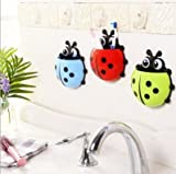 Home Sweet creative Coccinella toothbrush holder toothpaste shelf wall hung bathroom toilet accessories , Blue
