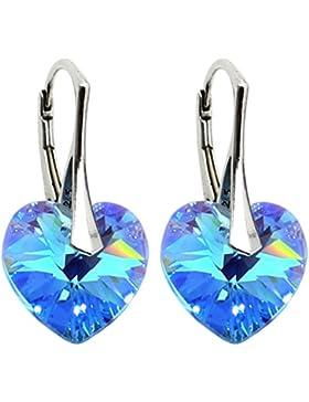 21 Farben- Ohrringe mit Kristall