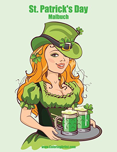 St. Patrick's Day Malbuch