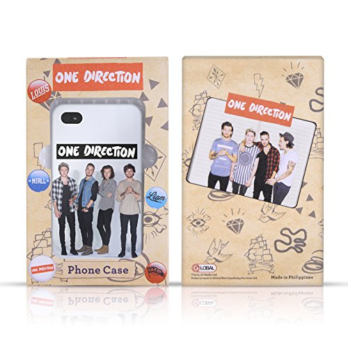 Personalizzata Personale One Direction 1D Palla Di Natale Natale Cover Retro Rigida per Apple iPhone X Buon Natale