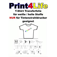 50 fogli di formato A4 film T-Shirt Transfer a getto