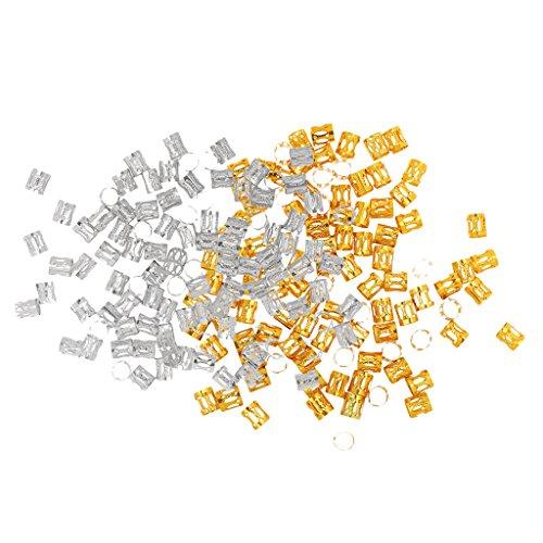 etallperle Spacer Charms Dread Lock Verstellbar Metall Cuffs Dreadlocks Perlen Flechtet Haar Schmuck Haare Dekoration Zubehör (Dread-lock-perücke)