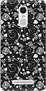 The Racoon Grip printed designer hard back mobile phone case cover for Xiaomi Redmi Note 3. (Rosy Delig)