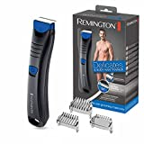 Remington BHT250 Delicates & Body Hair Trimmer, Trim-Shave-Technologie, Nass- und Trockenanwendungen, schwarz