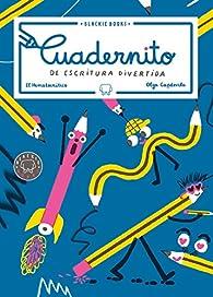 Cuadernito de escritura divertida par  El Hematocrítico