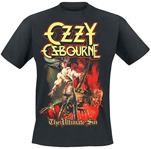 Ozzy Osbourne Ultimate Sin Cover Camiseta Negro L