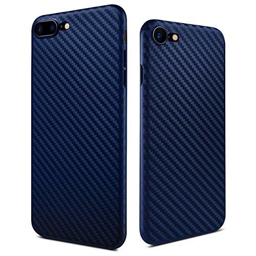 iPhone 8 hülle, iphone 7 case 4,7 Inch iphone case Zoll Carbon Fiber Pattern PP Handy Falle Abdeckung Business Style Shockproof Anti-Scratch Drop Schutz 0.5mm Ultra Thin 6g Leicht (Blau) (Kühle Handy-fälle Für Iphone 4)