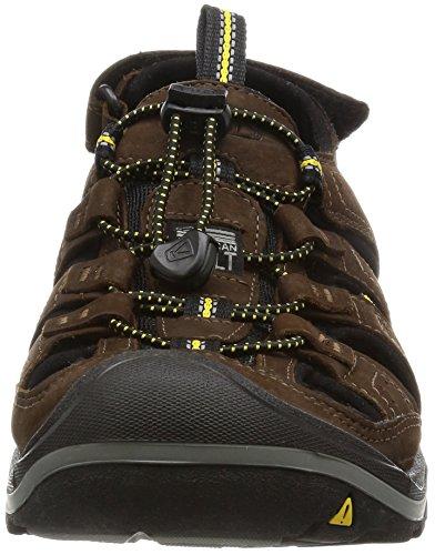 KEEN Uomini Sandalo Trekkingsandale NEWPORT H2 Nero Nero - 1.001.907 Bison/Black