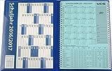 Insegnante di calendario-schulplaner Leo 2016-2017DIN A4+ leomappe Blu-IM Set + GRATIS: calendario da parete formato DIN A2per l' anno scolastico 2016-2017