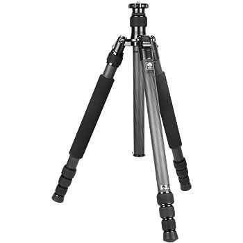 SIRUI N-3204X Master Drei-/Einbeinstativ (Carbon, Höhe: 175cm, Gewicht: 1,81kg, Belastbarkeit: 18kg) mit Tasche und Gurt