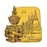Hongma Kühlschrankmagnet Thailand Gold Pinnwand Whiteboard Dekor Vintage